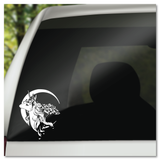 The Last Unicorn with Crescent Moon Vinyl Decal Sticker