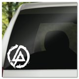 Linkin Park LP Distressed Logo Vinyl Decal Sticker