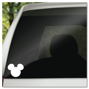 Classic Hidden Mickey Icon Vinyl Decal Sticker