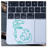 Rugrats Reptar 90s Nickelodeon Cartoon Vinyl Decal Sticker