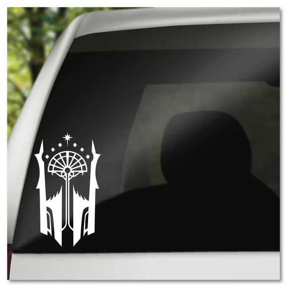 Shadow of Mordor Black Gate Sigil Vinyl Decal Sticker