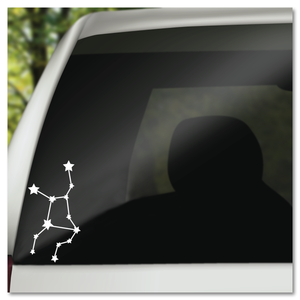 Virgo Star Chart Zodiac Constillation Horoscope Vinyl Decal Sticker