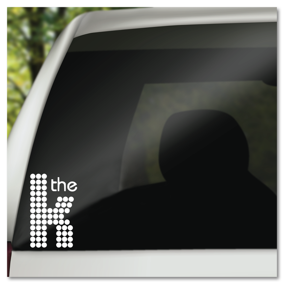The Killers Logo Vinyl Decal Sticker