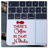 There's Coffee In That Nebula Star Trek: Voyager Captain Janeway Vinyl Decal Sticker