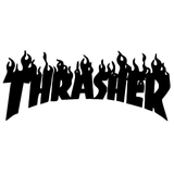 Thrasher Skateboarding Magazine Title Vinyl Decal Sticker
