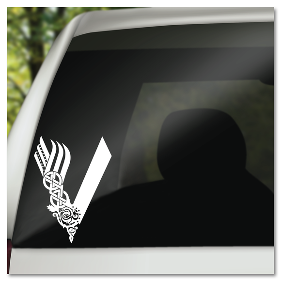 Vikings TV Show Logo Vinyl Decal Sticker