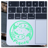 Pisces Zodiac Sign Vinyl Decal Sticker