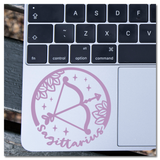 Sagittarius Zodiac Sign Vinyl Decal Sticker