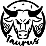 Taurus Zodiac Sign Vinyl Decal Sticker