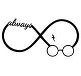 Harry Potter Infinity Always Snape Vinyl Decal Sticker