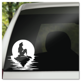 Disney's Little Mermaid Sunset Vinyl Decal Sticker