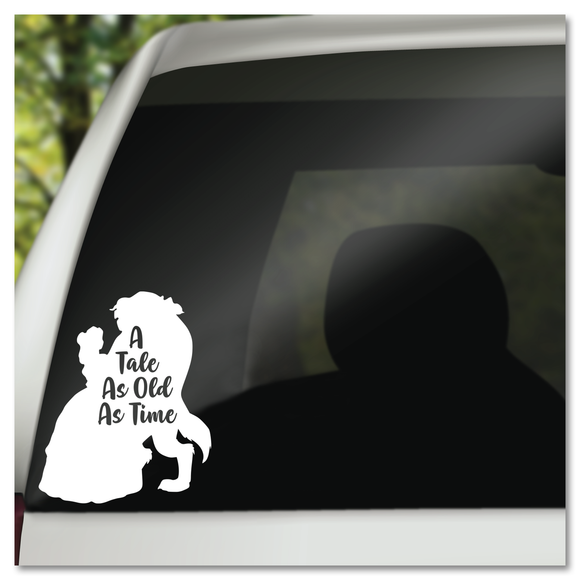 Disney Beauty and the Beast A Tale As Old As Time Vinyl Decal Sticker