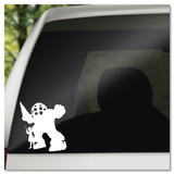 Bioshock Big Daddy & Little Sister Vinyl Decal Sticker