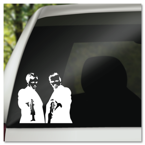 Boondock Saints MacManus Brothers Norman Reedus Sean Patrick Flanery Vinyl Decal Sticker