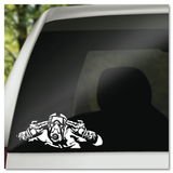 Borderlands Krieg the Psycho Vault Hunter Vinyl Decal Sticker