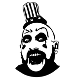 Rob Zombie Captain Spaulding House of 1000 Corpses Devils Rejects Vinyl Decal Sticker