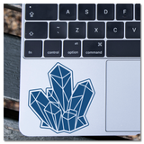 Crystal Cluster Vinyl Decal Sticker