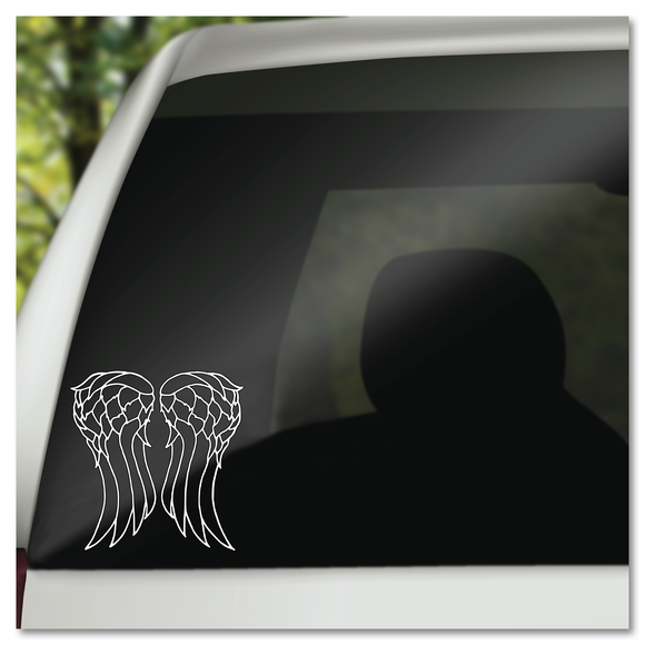 The Walking Dead Daryl Dixon Wings Vinyl Decal Sticker