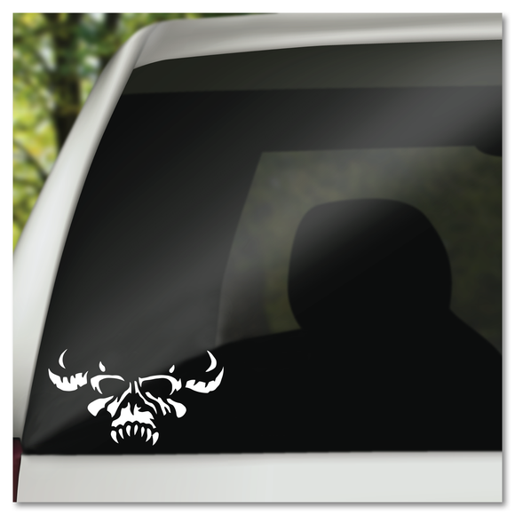 Demon Danzig Skull Vinyl Decal Sticker