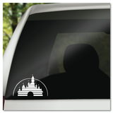 Disney Home Video Movie Logo Sleeping Beauty Castle Vinyl Decal Sticker