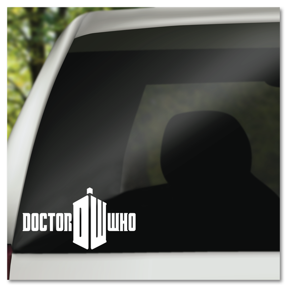 Doctor Dr Who TARDIS Vinyl Decal Sticker