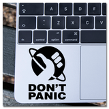 Hitchhiker's Guide to the Galaxy Don't Panic Vinyl Decal Sticker
