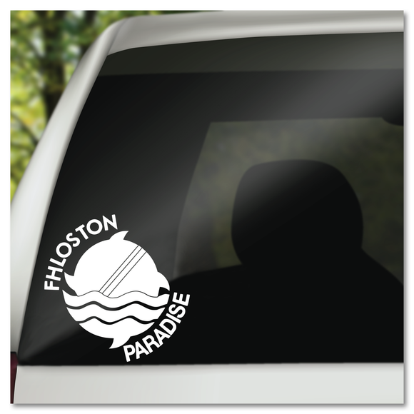 Fifth Element Fhloston Paradise Vinyl Decal Sticker