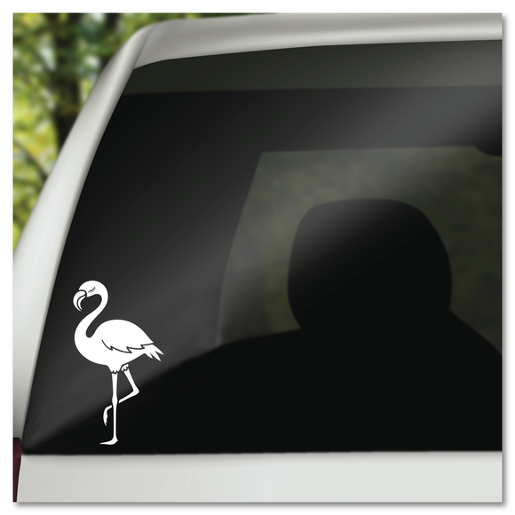Flamingo Vinyl Decal Sticker