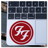 Foo Fighters Band Logo Vinyl Decal Sticker