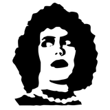 Rocky Horror Picture Show Dr. Frank-N-Furter RHPS Vinyl Decal Sticker