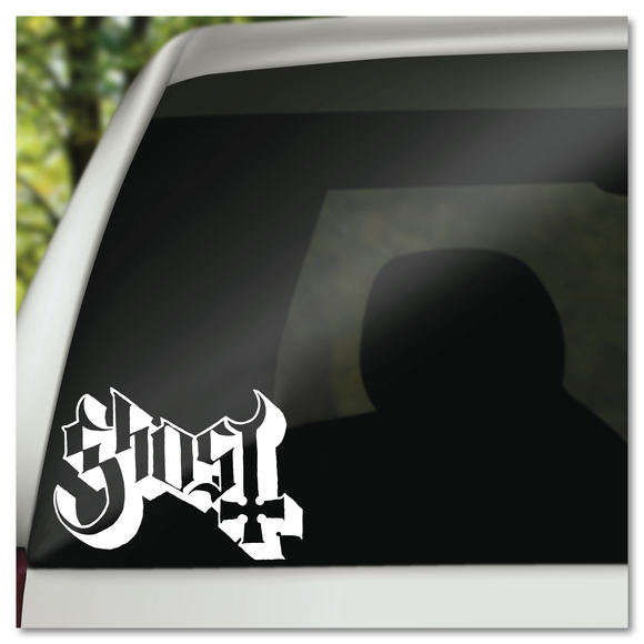 Ghost Band Name Logo Vinyl Decal Sticker