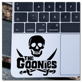 The Goonies 80s Movie Pirate Skull Crossed Swords Vinyl Decal Sticker