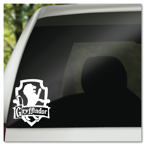 Harry Potter Gryffindor Hogwarts House Shield Vinyl Decal Sticker