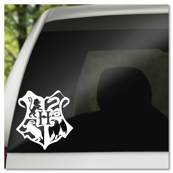 Harry Potter Hogwarts Houses Shield Vinyl Decal Sticker