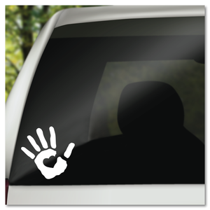 Heart In Hand Vinyl Decal Sticker
