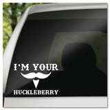 Tombstone Doc Holiday I'm Your Huckleberry Vinyl Decal Sticker