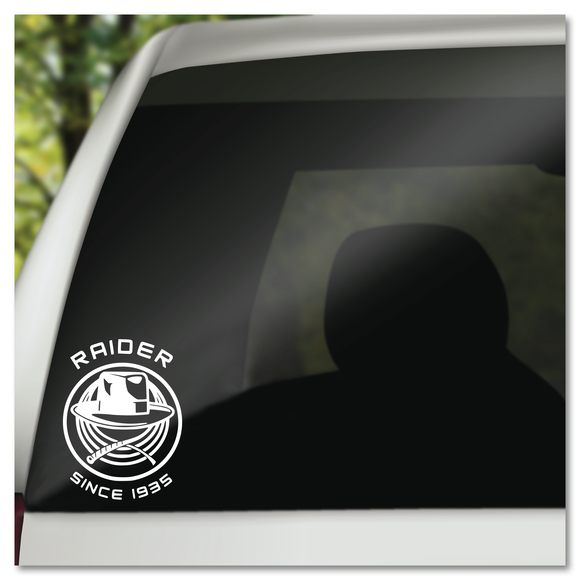 Indiana Jones Raiders Of The Lost Ark Since 1935 Vinyl Decal Sticker Pink Pineapple Design