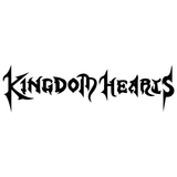 Kingdom Hearts Title Vinyl Decal Sticker
