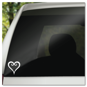 Kingdom Hearts Heart Vinyl Decal Sticker
