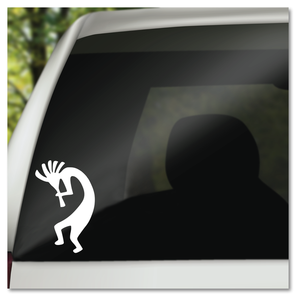 Kokopelli Southwestern Native American Fertility Deity Trickster God Spirit of Music Vinyl Decal Sticker