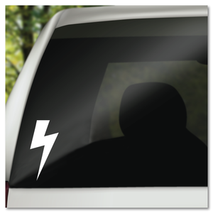Classic Lightning Bolt Vinyl Decal Sticker