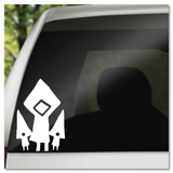 Little Nightmares Six & Nomes Vinyl Decal Sticker
