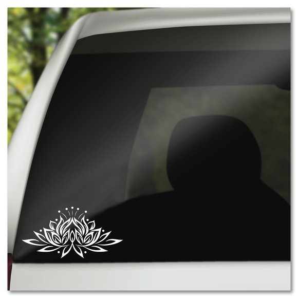 Lotus Flower Buddhism Enlightenment Vinyl Decal Sticker