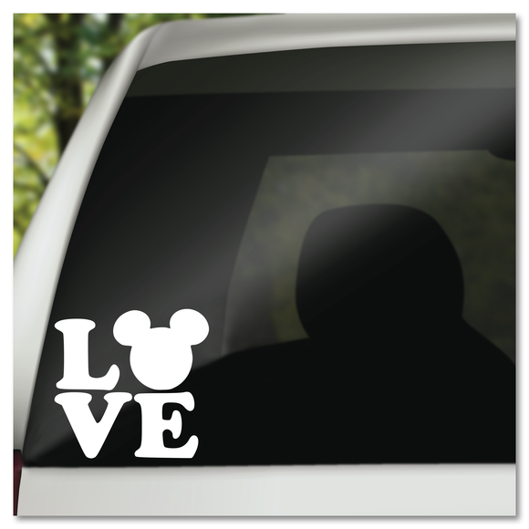 Mickey Mouse Pop Art Love Disney Vinyl Decal Sticker