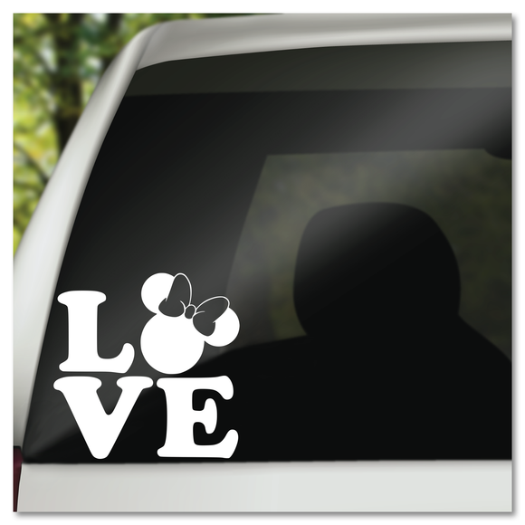 Minnie Mouse Pop Art Love Disney Vinyl Decal Sticker