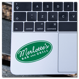True Blood Merlotte's Bat & Grill Patch Vinyl Decal Sticker