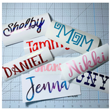Custom Personalized Name / Word / Phrase Vinyl Decal Sticker