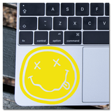 Nirvana Nevermind Smiley Face Logo Vinyl Decal Sticker