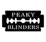Peaky Blinders Double Edge Razorblade Vinyl Decal Sticker