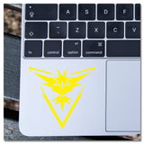 Pokemon Team Instinct Zapdos Logo Prints Vinyl Decal Sticker